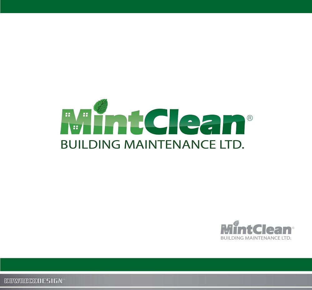 Logo Design by kowreck - Entry No. 24 in the Logo Design Contest MintClean Building Maintenance Ltd. Logo Design.