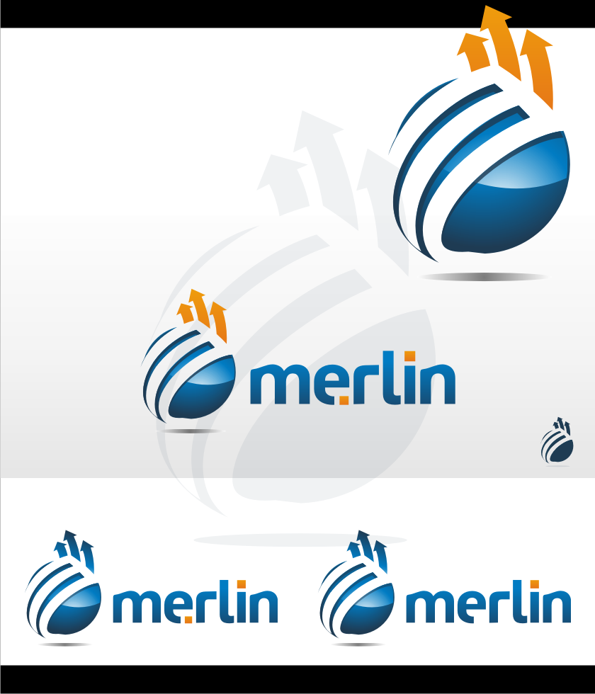 Logo Design by graphicleaf - Entry No. 159 in the Logo Design Contest Imaginative Logo Design for Merlin.