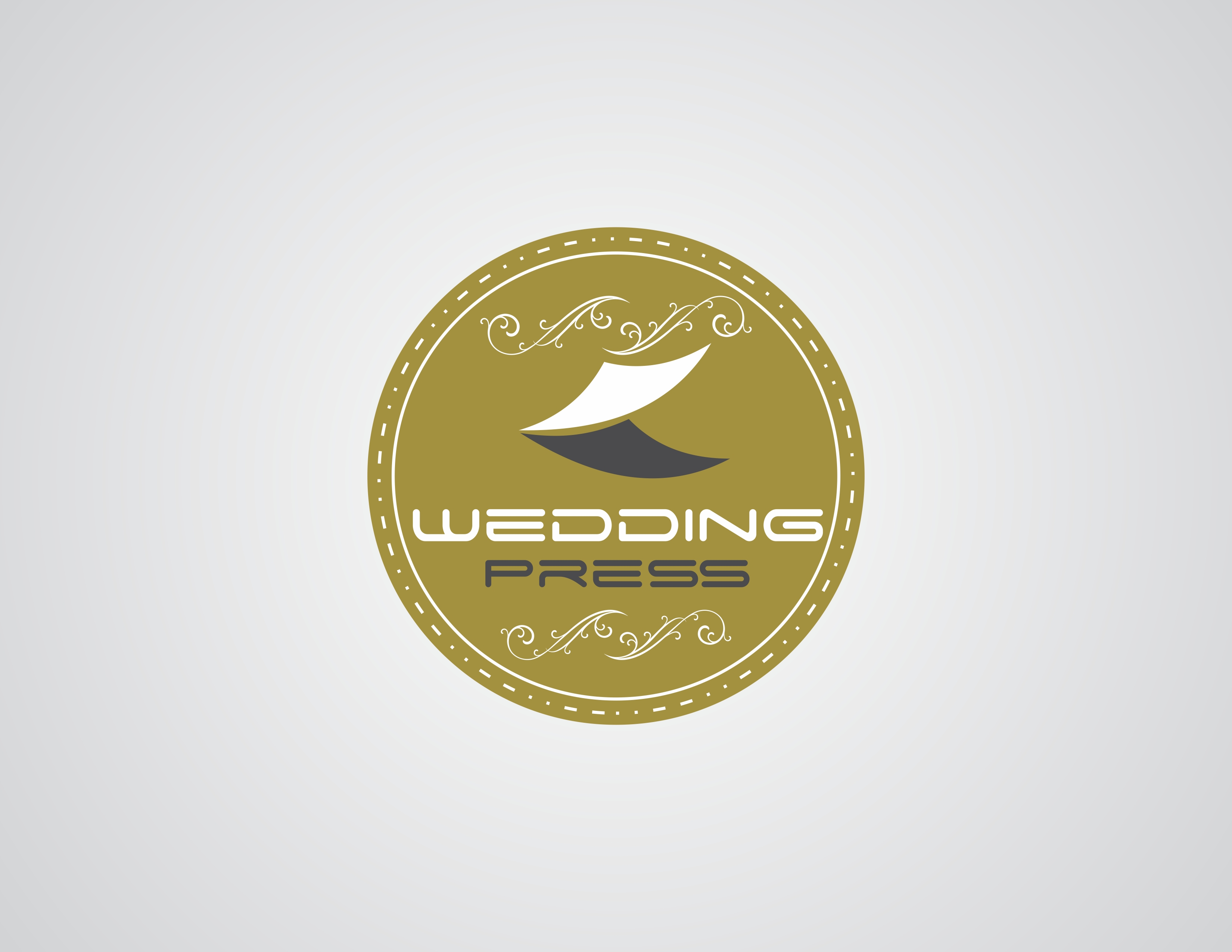 Logo Design by Rizwan Saeed - Entry No. 75 in the Logo Design Contest Wedding Writes Logo Design.
