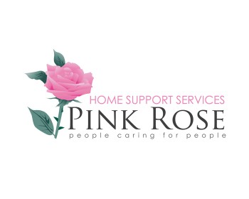 Logo Design by ongyudicandra - Entry No. 84 in the Logo Design Contest Pink Rose Home Support Services.