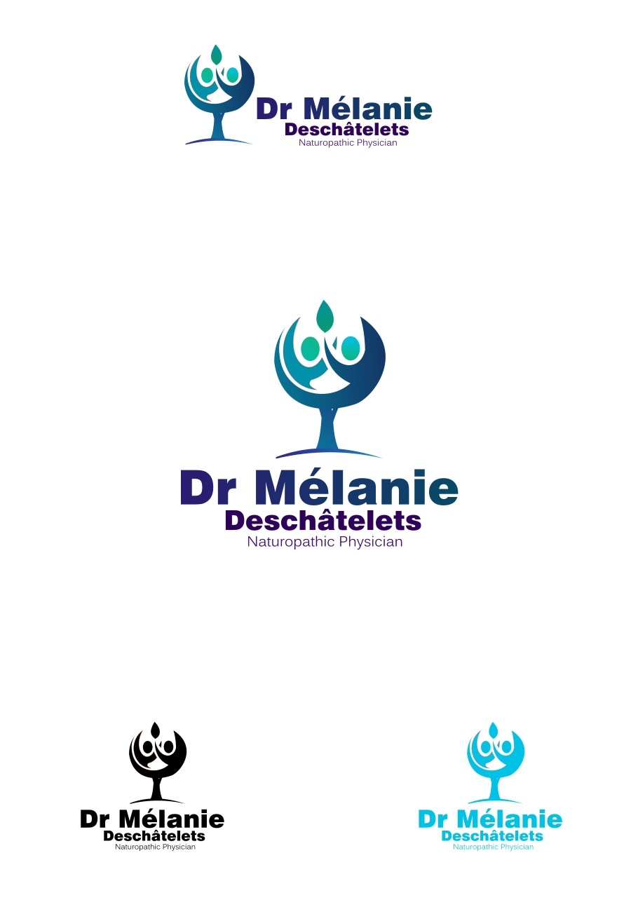 Logo Design by Private User - Entry No. 90 in the Logo Design Contest Artistic Logo Design for Dr Mélanie DesChâtelets.