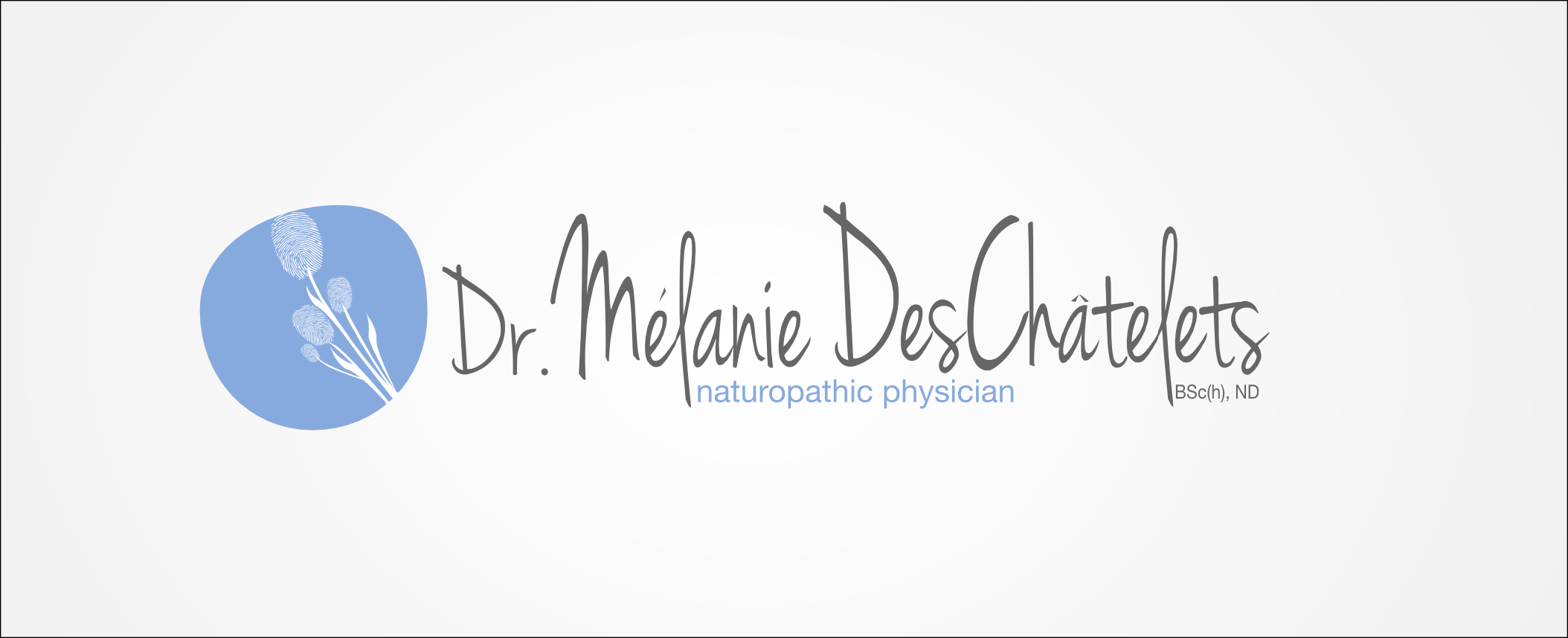 Logo Design by Andrew Bertram - Entry No. 91 in the Logo Design Contest Artistic Logo Design for Dr Mélanie DesChâtelets.