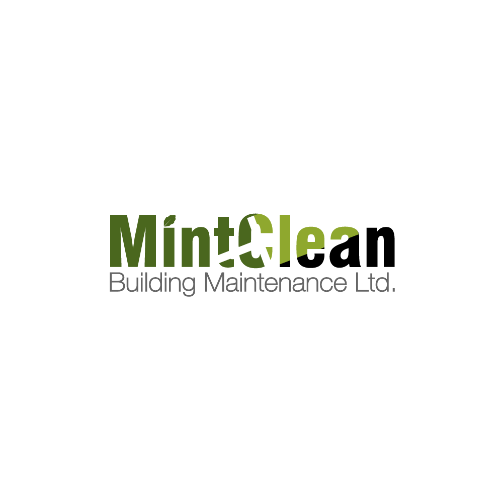 Logo Design by rockin - Entry No. 30 in the Logo Design Contest MintClean Building Maintenance Ltd. Logo Design.