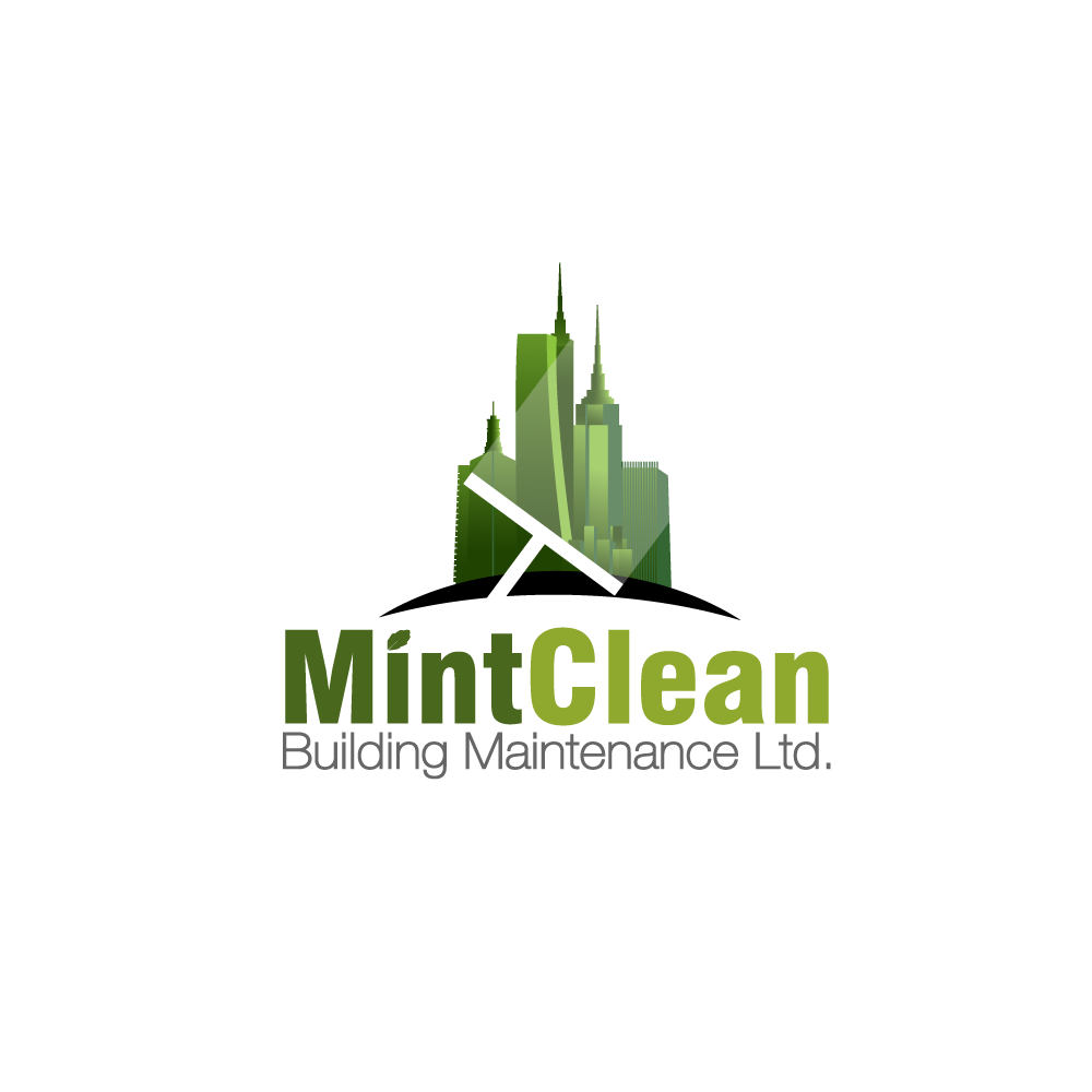 Logo Design by rockin - Entry No. 31 in the Logo Design Contest MintClean Building Maintenance Ltd. Logo Design.