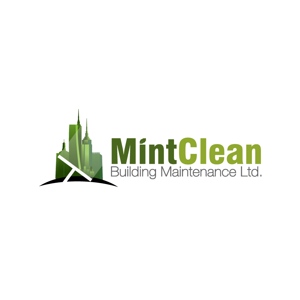 Logo Design by rockin - Entry No. 32 in the Logo Design Contest MintClean Building Maintenance Ltd. Logo Design.