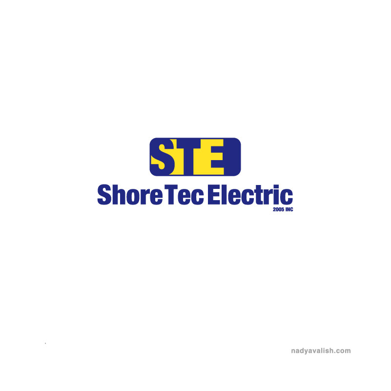 Logo Design by Branding - Entry No. 90 in the Logo Design Contest Shore Tec Electric 2005 Inc.