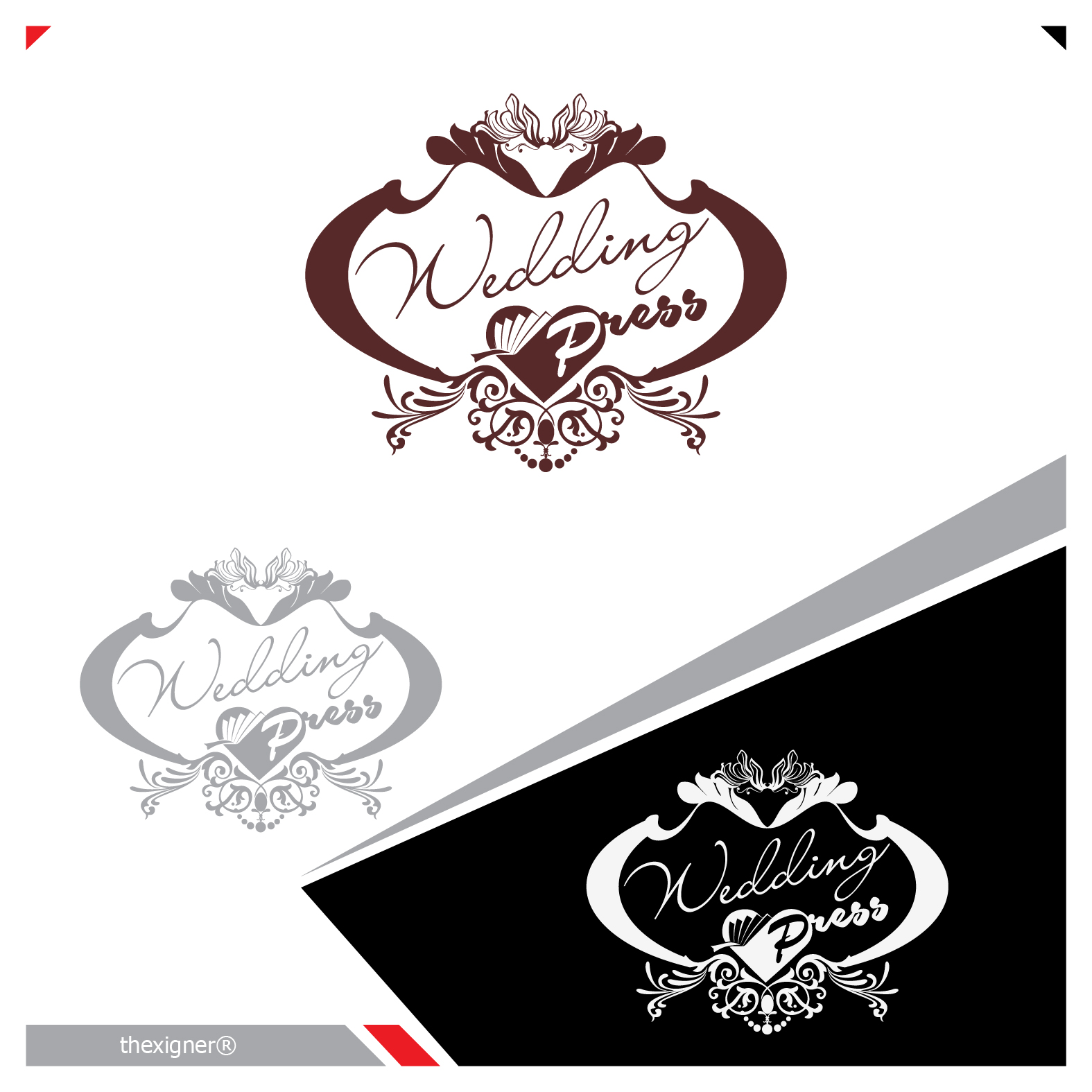 Logo Design by lagalag - Entry No. 89 in the Logo Design Contest Wedding Writes Logo Design.