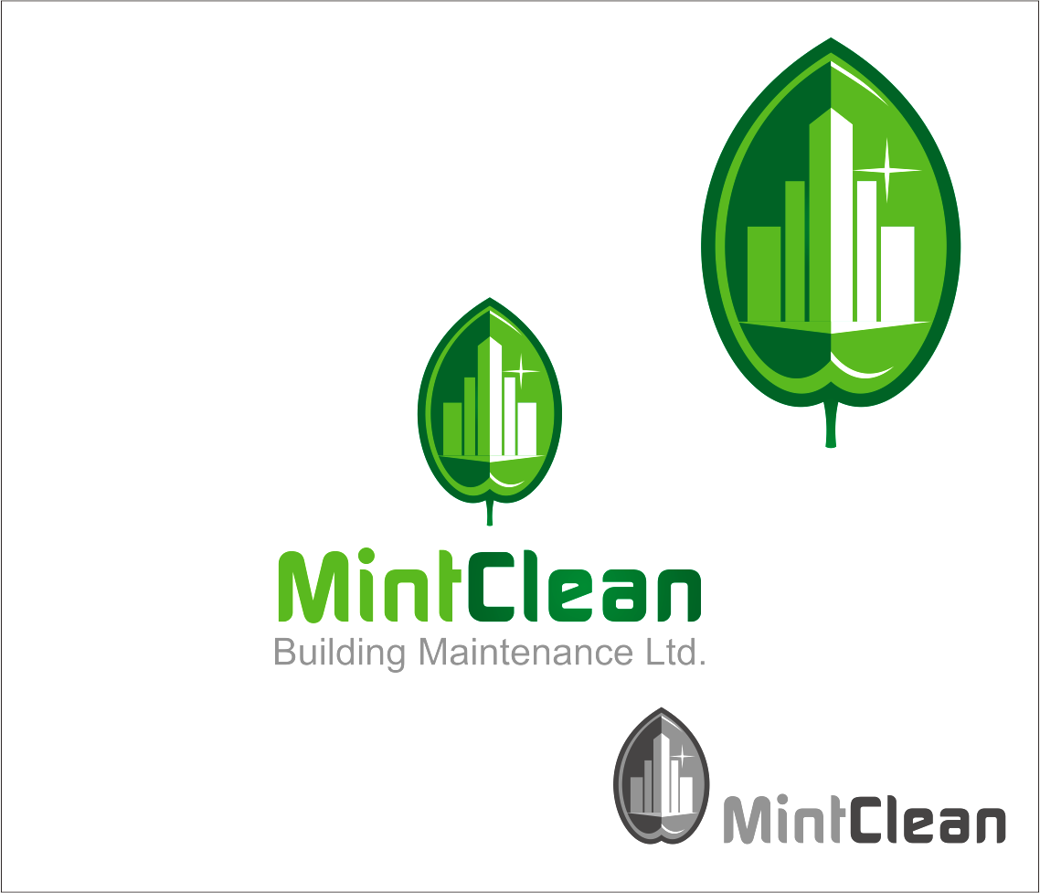 Logo Design by Armada Jamaluddin - Entry No. 43 in the Logo Design Contest MintClean Building Maintenance Ltd. Logo Design.