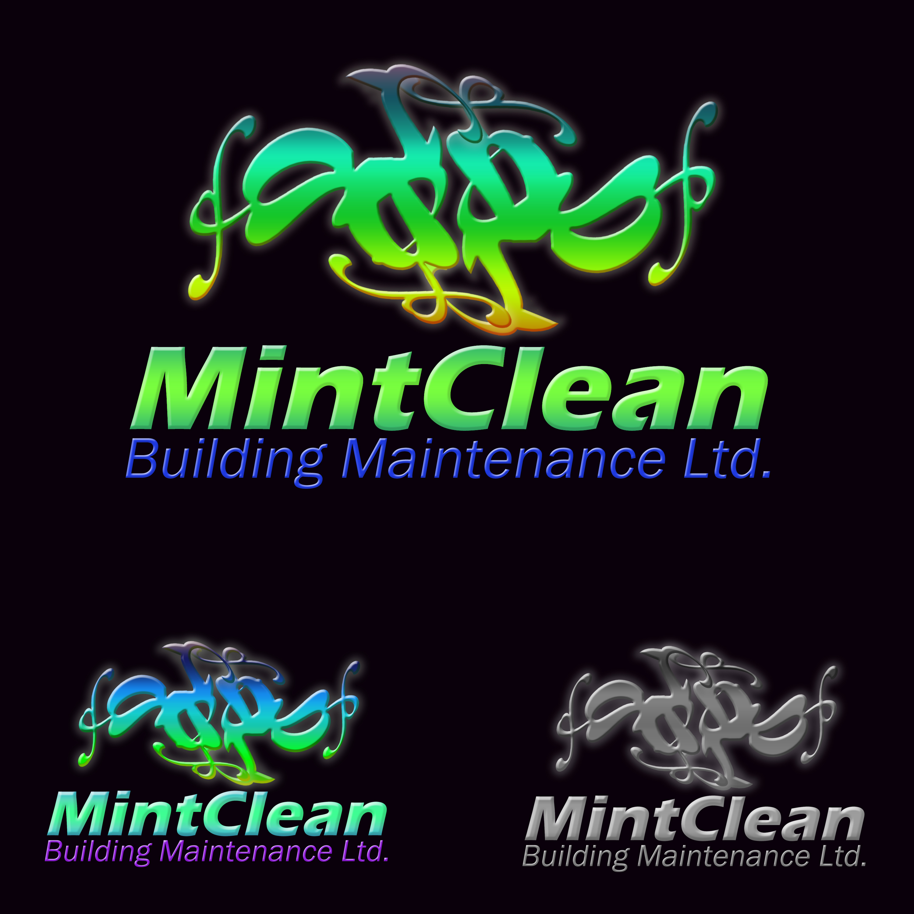 Logo Design by Roberto Sibbaluca - Entry No. 45 in the Logo Design Contest MintClean Building Maintenance Ltd. Logo Design.