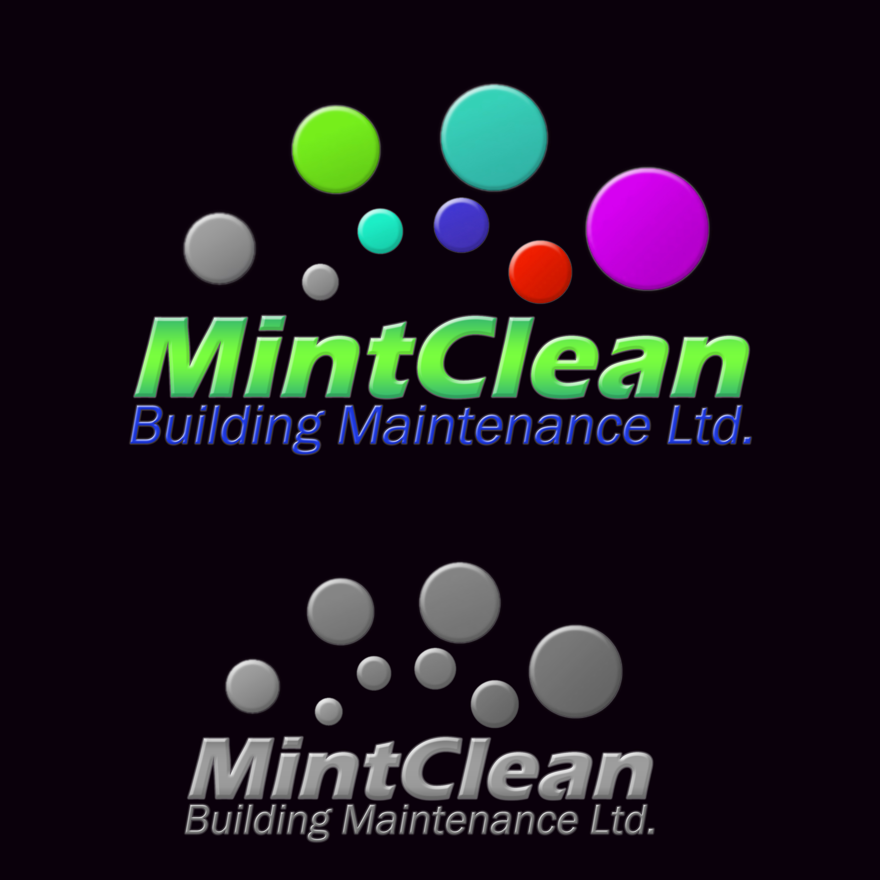 Logo Design by Roberto Sibbaluca - Entry No. 46 in the Logo Design Contest MintClean Building Maintenance Ltd. Logo Design.