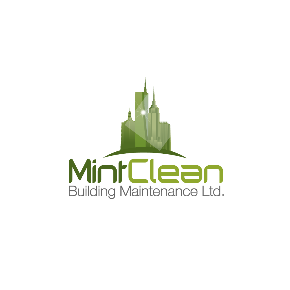 Logo Design by rockin - Entry No. 50 in the Logo Design Contest MintClean Building Maintenance Ltd. Logo Design.