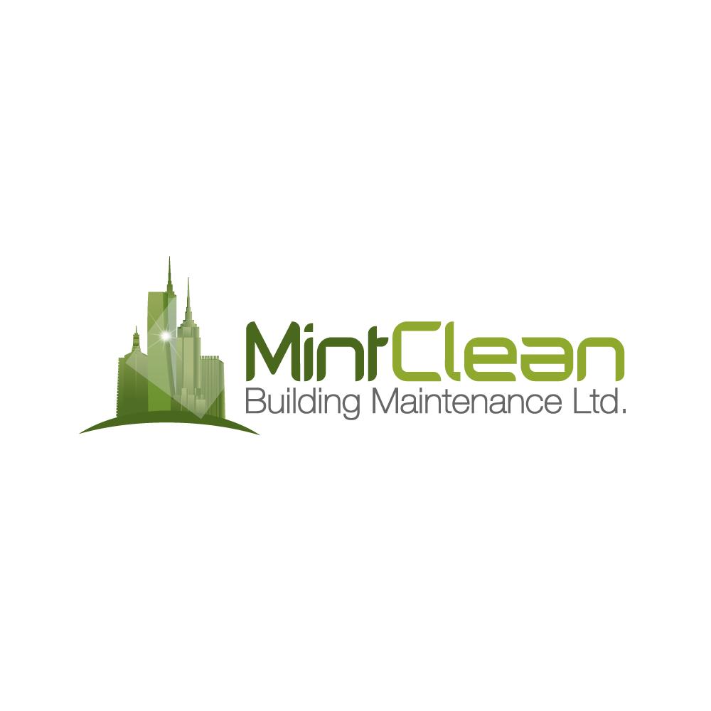 Logo Design by rockin - Entry No. 51 in the Logo Design Contest MintClean Building Maintenance Ltd. Logo Design.