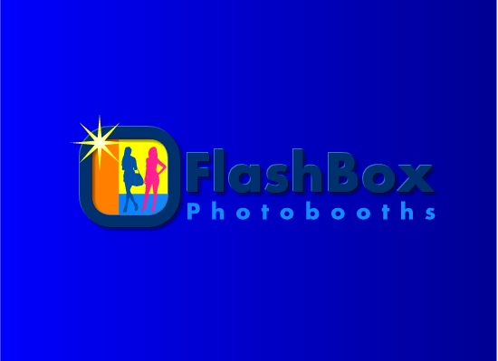 Logo Design by Ismail Adhi Wibowo - Entry No. 3 in the Logo Design Contest New Logo Design for FlashBox Photobooths.