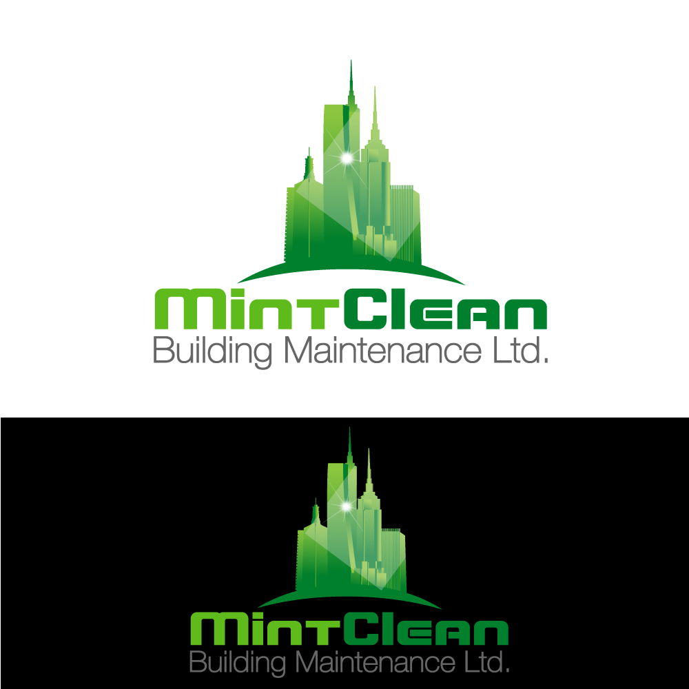Logo Design by rockin - Entry No. 52 in the Logo Design Contest MintClean Building Maintenance Ltd. Logo Design.