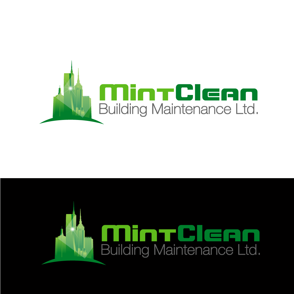 Logo Design by rockin - Entry No. 53 in the Logo Design Contest MintClean Building Maintenance Ltd. Logo Design.