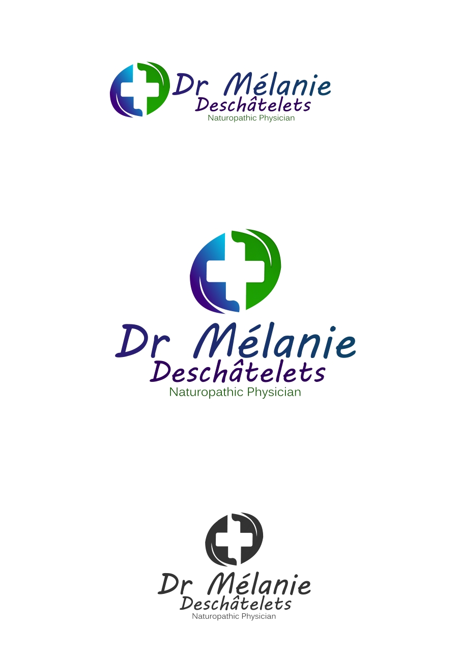 Logo Design by Private User - Entry No. 107 in the Logo Design Contest Artistic Logo Design for Dr Mélanie DesChâtelets.