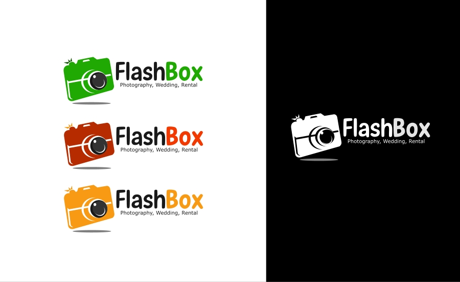 Logo Design by Private User - Entry No. 12 in the Logo Design Contest New Logo Design for FlashBox Photobooths.