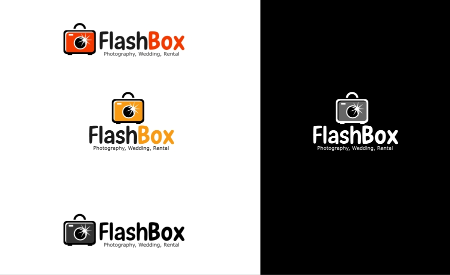 Logo Design by Private User - Entry No. 13 in the Logo Design Contest New Logo Design for FlashBox Photobooths.