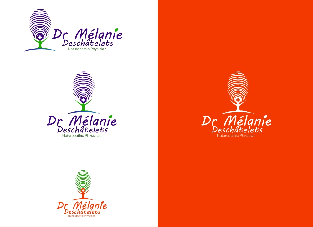 Logo Design by Private User - Entry No. 108 in the Logo Design Contest Artistic Logo Design for Dr Mélanie DesChâtelets.