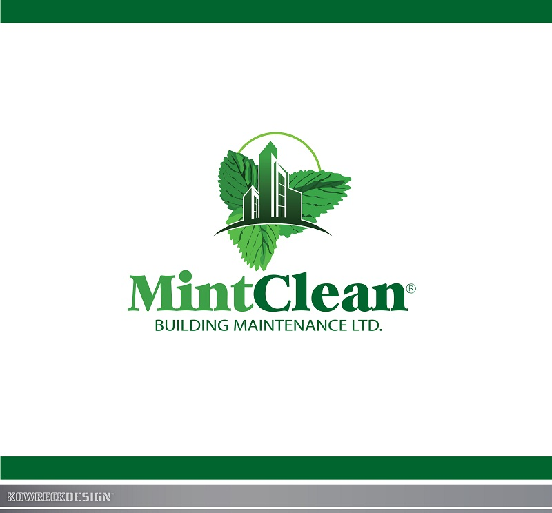 Logo Design by kowreck - Entry No. 60 in the Logo Design Contest MintClean Building Maintenance Ltd. Logo Design.