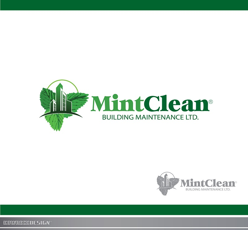 Logo Design by kowreck - Entry No. 61 in the Logo Design Contest MintClean Building Maintenance Ltd. Logo Design.