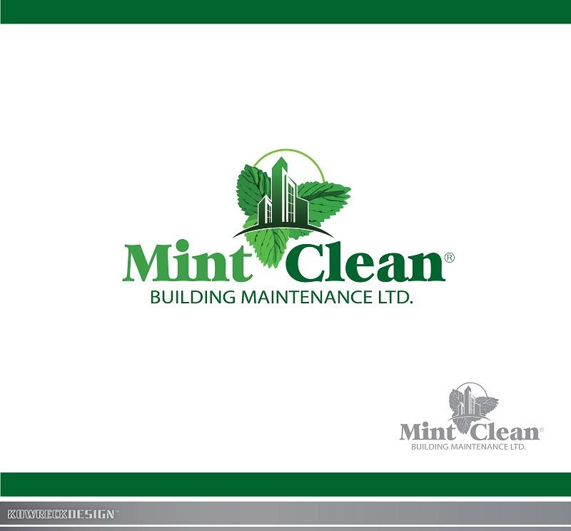 Logo Design by kowreck - Entry No. 62 in the Logo Design Contest MintClean Building Maintenance Ltd. Logo Design.