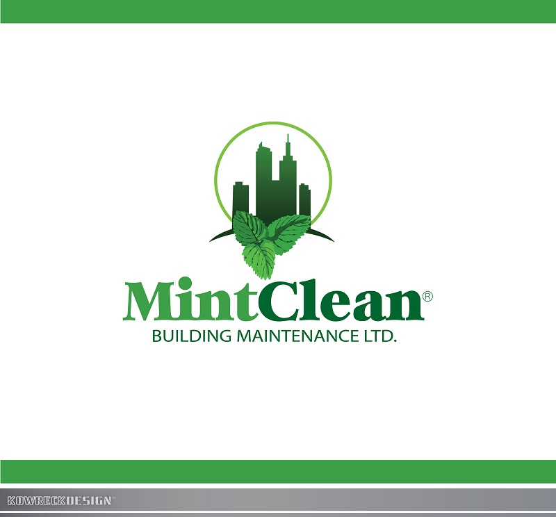 Logo Design by kowreck - Entry No. 63 in the Logo Design Contest MintClean Building Maintenance Ltd. Logo Design.