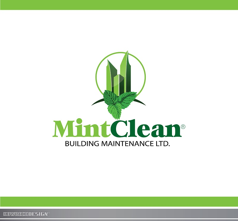 Logo Design by kowreck - Entry No. 64 in the Logo Design Contest MintClean Building Maintenance Ltd. Logo Design.