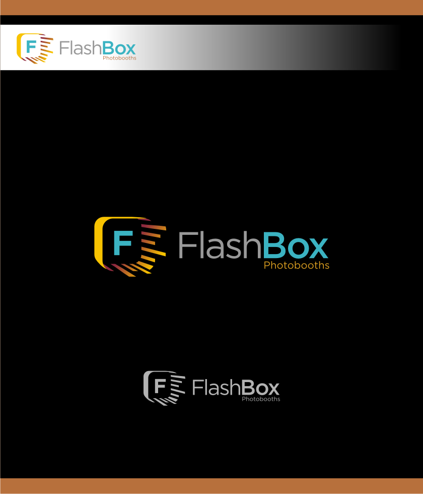 Logo Design by graphicleaf - Entry No. 29 in the Logo Design Contest New Logo Design for FlashBox Photobooths.
