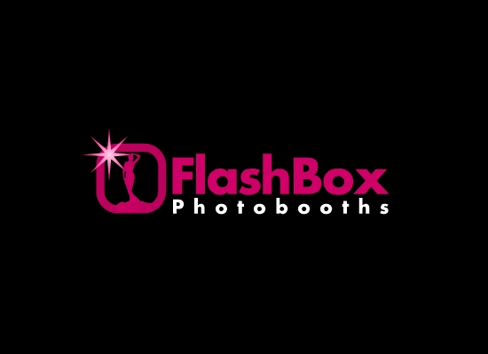 Logo Design by Ismail Adhi Wibowo - Entry No. 34 in the Logo Design Contest New Logo Design for FlashBox Photobooths.