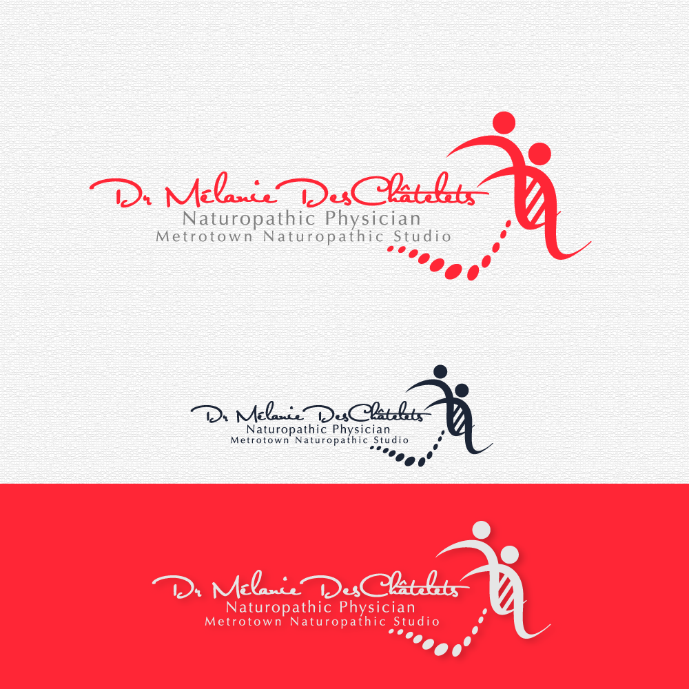 Logo Design by rockin - Entry No. 124 in the Logo Design Contest Artistic Logo Design for Dr Mélanie DesChâtelets.