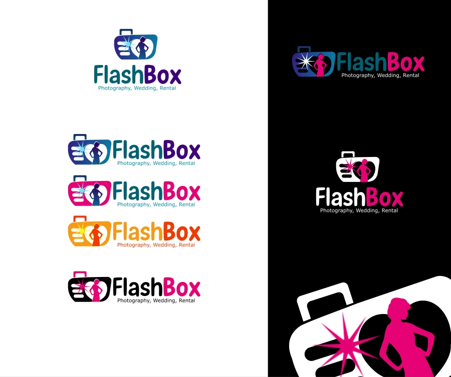 Logo Design by Private User - Entry No. 37 in the Logo Design Contest New Logo Design for FlashBox Photobooths.