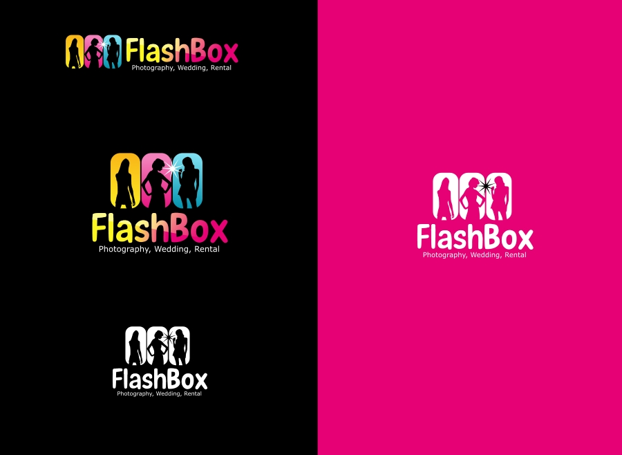 Logo Design by Private User - Entry No. 39 in the Logo Design Contest New Logo Design for FlashBox Photobooths.