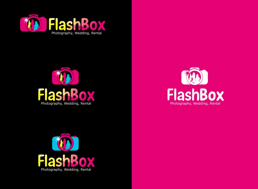 Logo Design by Private User - Entry No. 40 in the Logo Design Contest New Logo Design for FlashBox Photobooths.