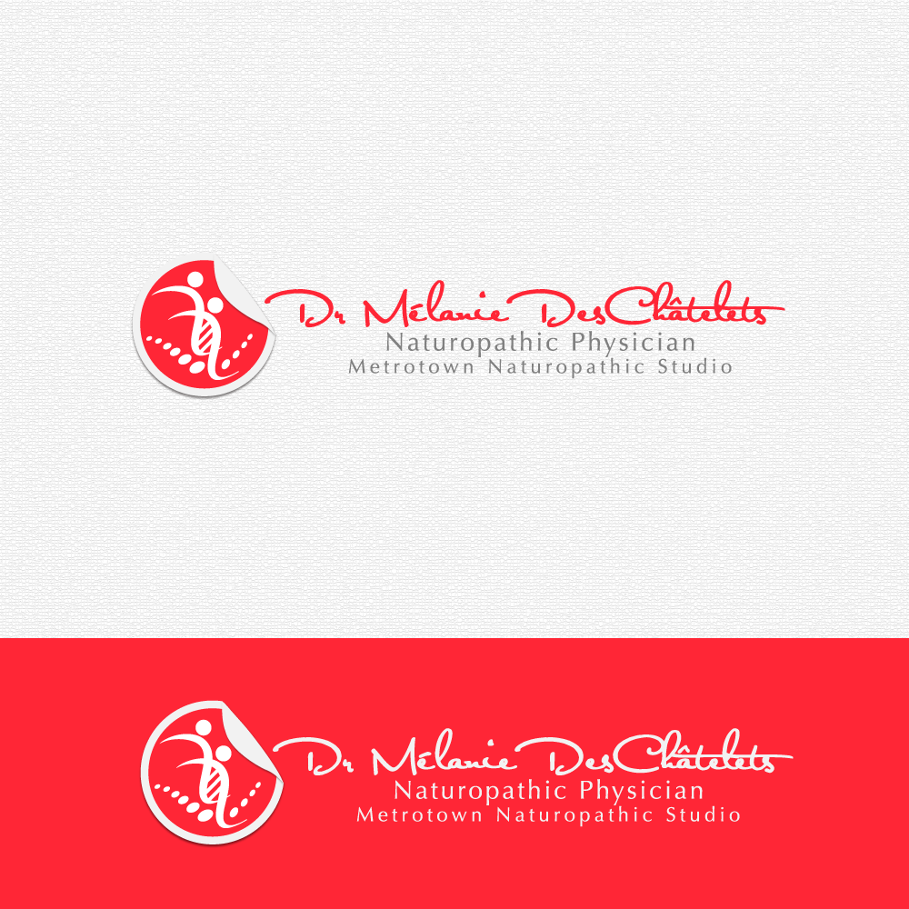 Logo Design by rockin - Entry No. 125 in the Logo Design Contest Artistic Logo Design for Dr Mélanie DesChâtelets.