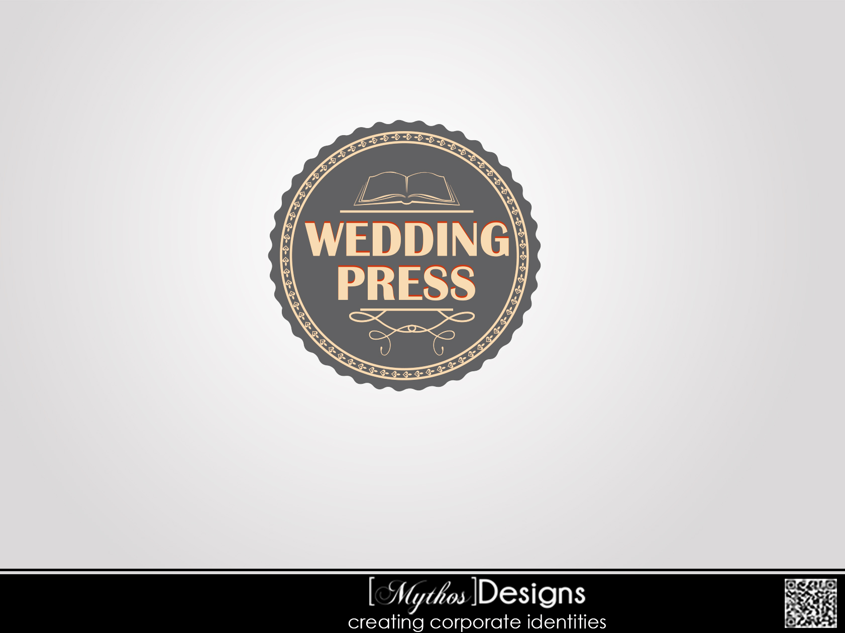 Logo Design by Mythos Designs - Entry No. 166 in the Logo Design Contest Wedding Writes Logo Design.