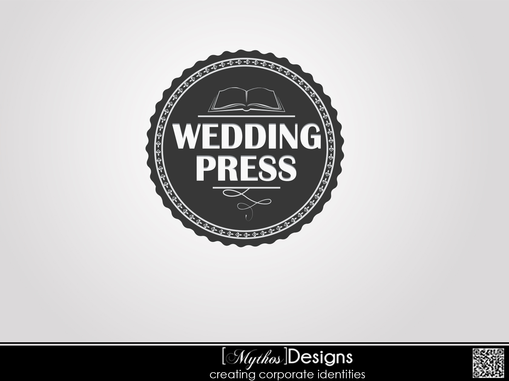 Logo Design by Mythos Designs - Entry No. 167 in the Logo Design Contest Wedding Writes Logo Design.