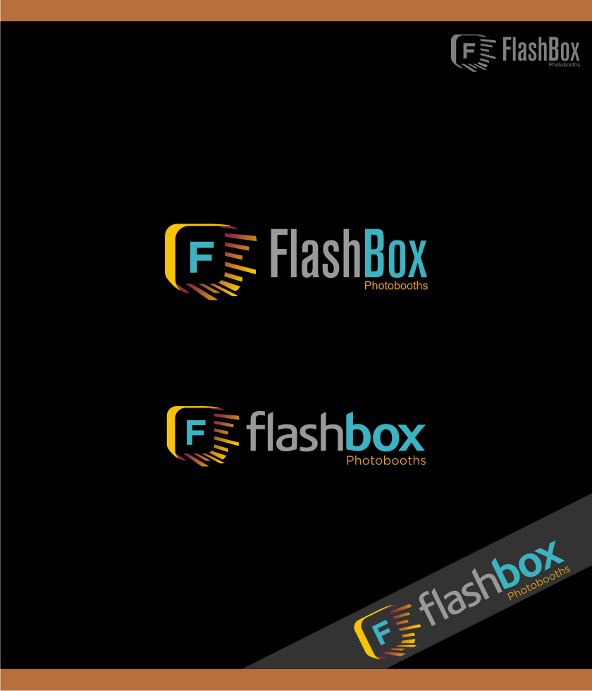 Logo Design by graphicleaf - Entry No. 45 in the Logo Design Contest New Logo Design for FlashBox Photobooths.