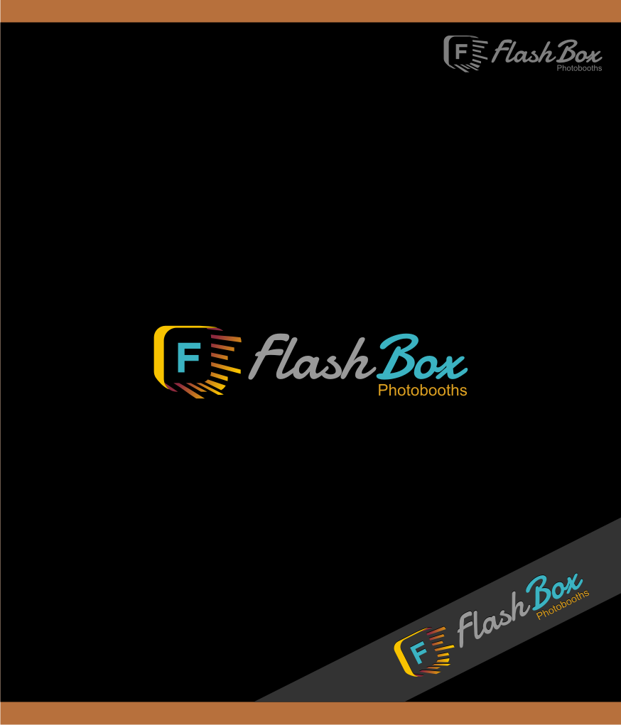 Logo Design by graphicleaf - Entry No. 46 in the Logo Design Contest New Logo Design for FlashBox Photobooths.