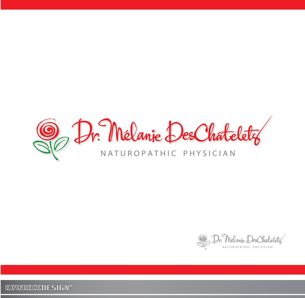 Logo Design by kowreck - Entry No. 131 in the Logo Design Contest Artistic Logo Design for Dr Mélanie DesChâtelets.