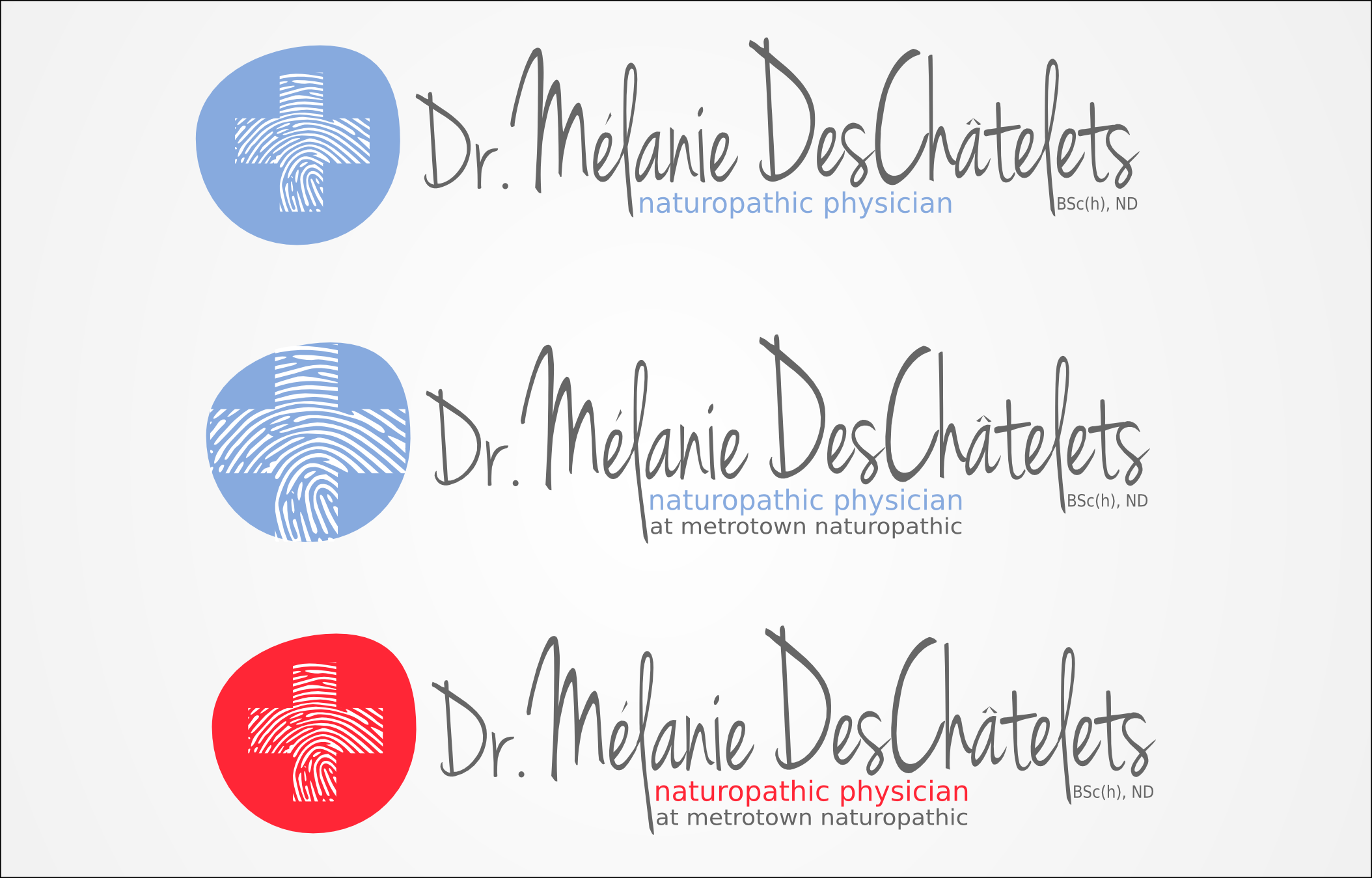 Logo Design by Andrew Bertram - Entry No. 133 in the Logo Design Contest Artistic Logo Design for Dr Mélanie DesChâtelets.