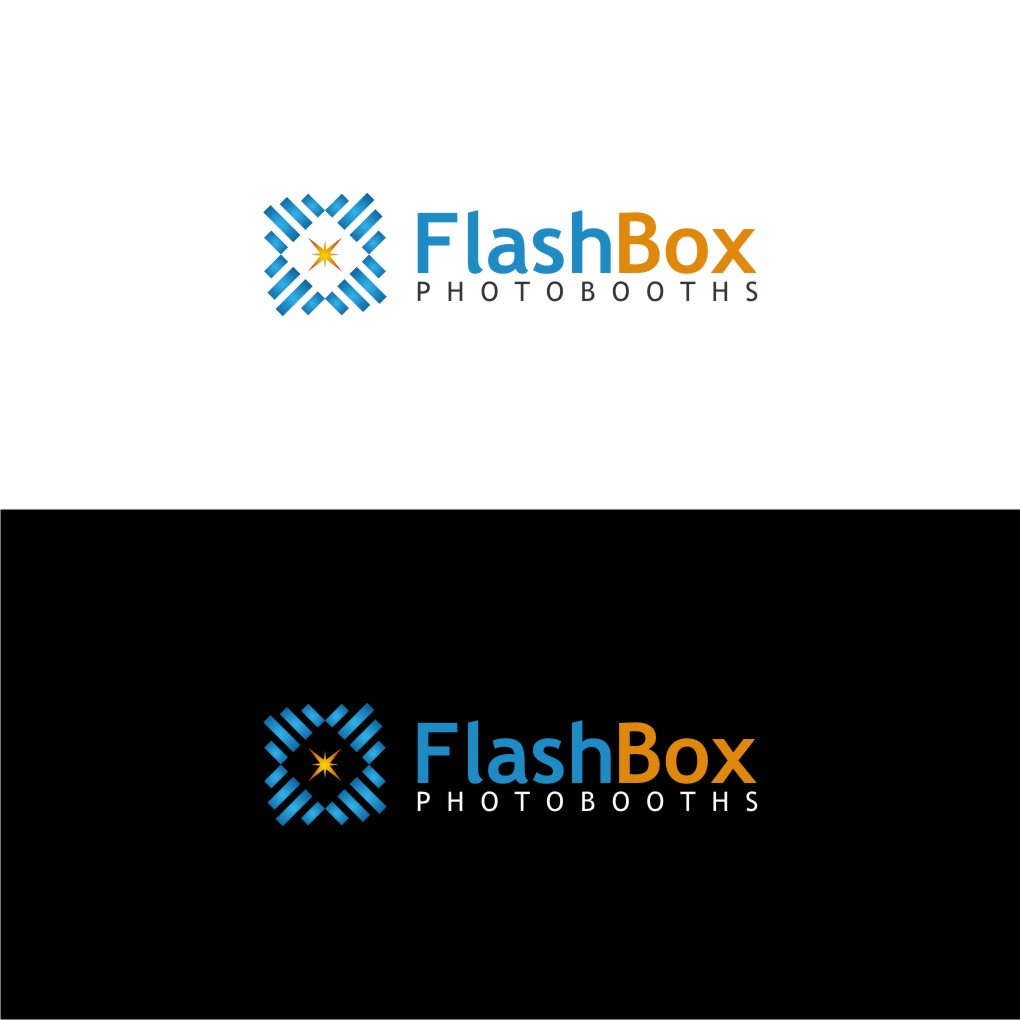 Logo Design by untung - Entry No. 47 in the Logo Design Contest New Logo Design for FlashBox Photobooths.