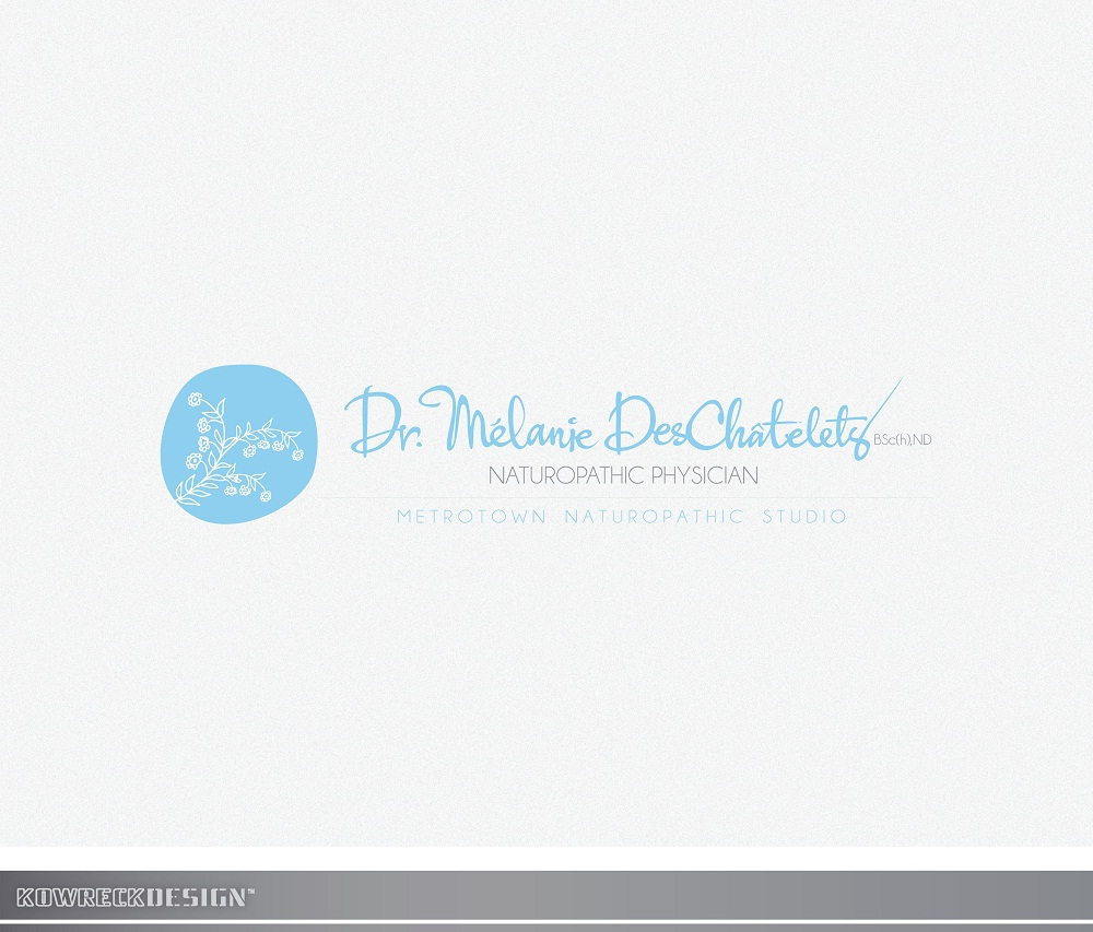 Logo Design by kowreck - Entry No. 136 in the Logo Design Contest Artistic Logo Design for Dr Mélanie DesChâtelets.