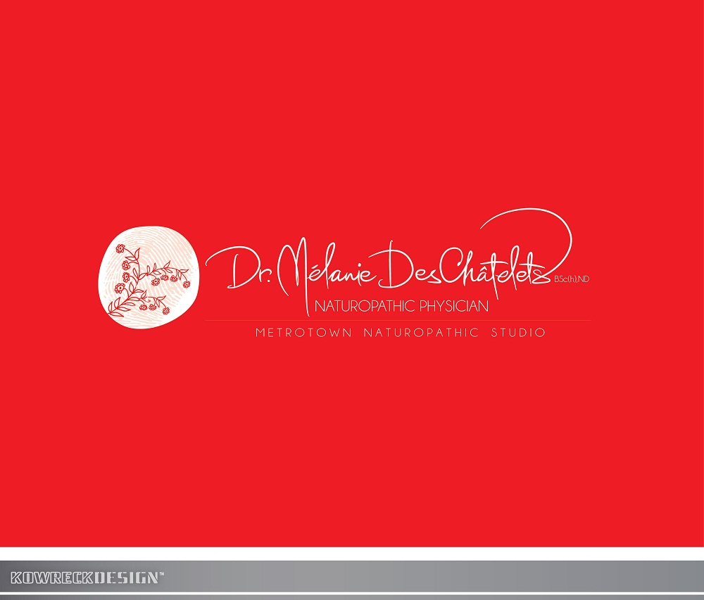 Logo Design by kowreck - Entry No. 138 in the Logo Design Contest Artistic Logo Design for Dr Mélanie DesChâtelets.