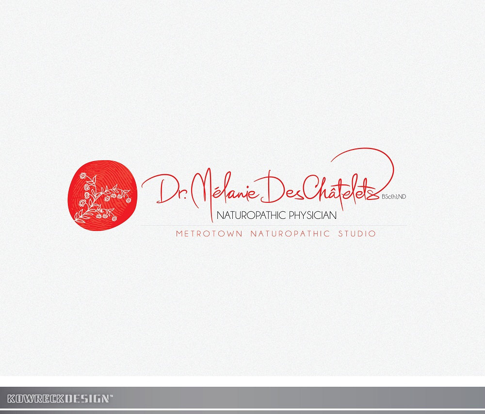 Logo Design by kowreck - Entry No. 139 in the Logo Design Contest Artistic Logo Design for Dr Mélanie DesChâtelets.