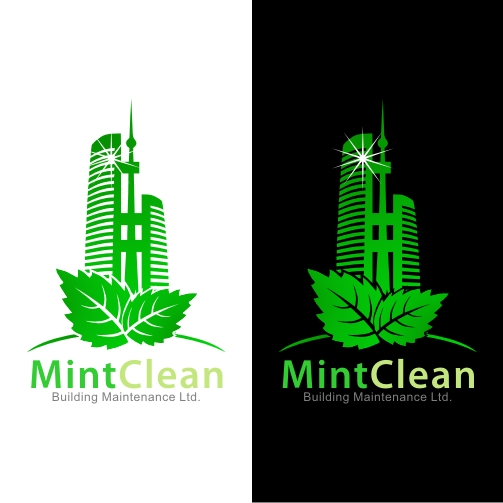 Logo Design by Mbelgedez - Entry No. 77 in the Logo Design Contest MintClean Building Maintenance Ltd. Logo Design.