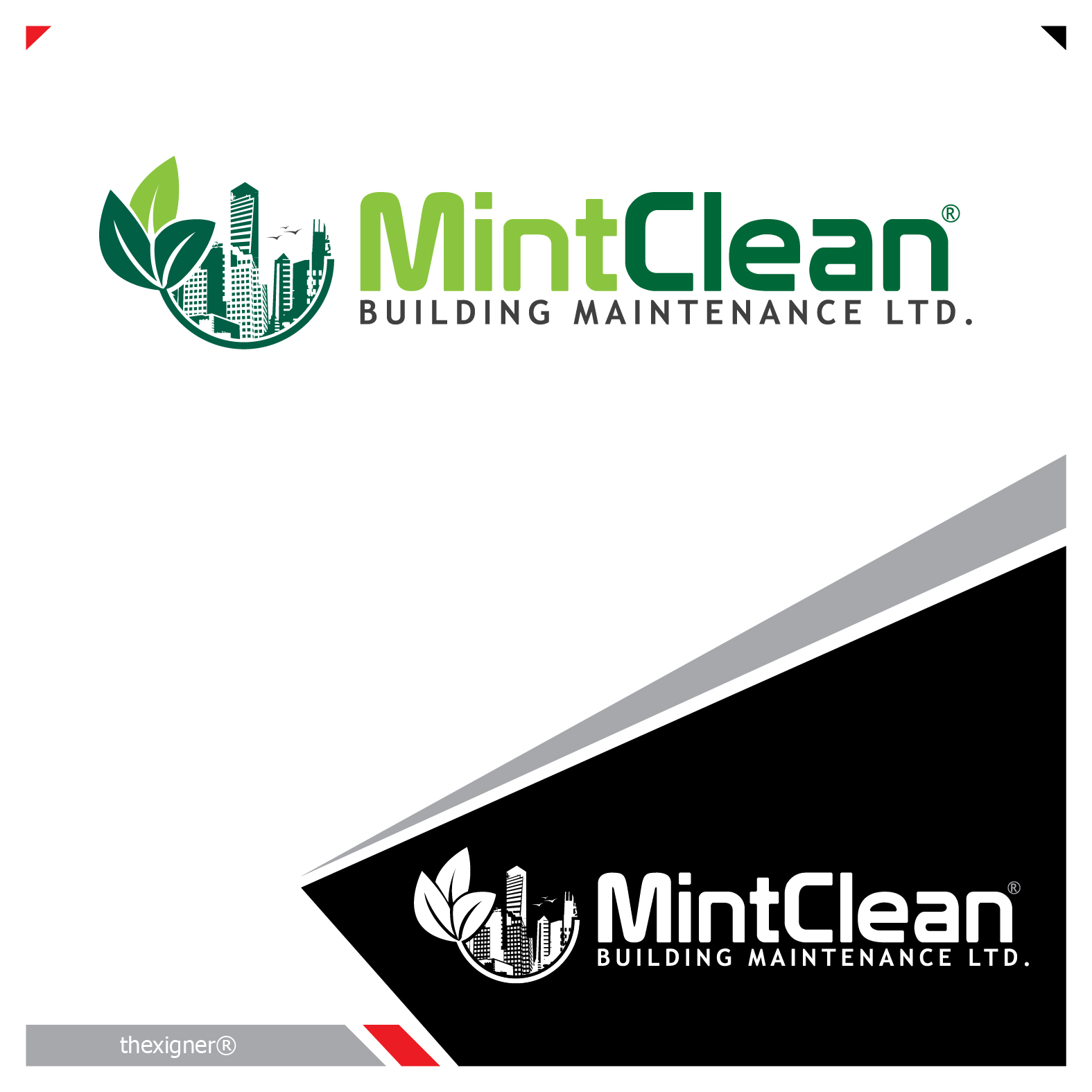 Logo Design by lagalag - Entry No. 78 in the Logo Design Contest MintClean Building Maintenance Ltd. Logo Design.