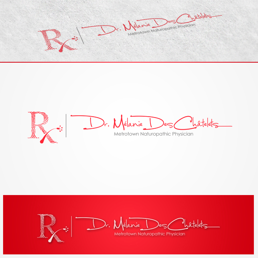 Logo Design by omARTist - Entry No. 146 in the Logo Design Contest Artistic Logo Design for Dr Mélanie DesChâtelets.