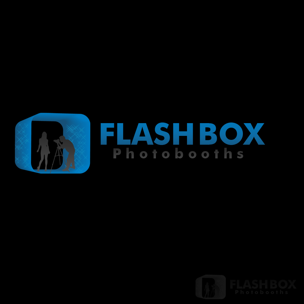 Logo Design by Bobby Yoga P - Entry No. 48 in the Logo Design Contest New Logo Design for FlashBox Photobooths.