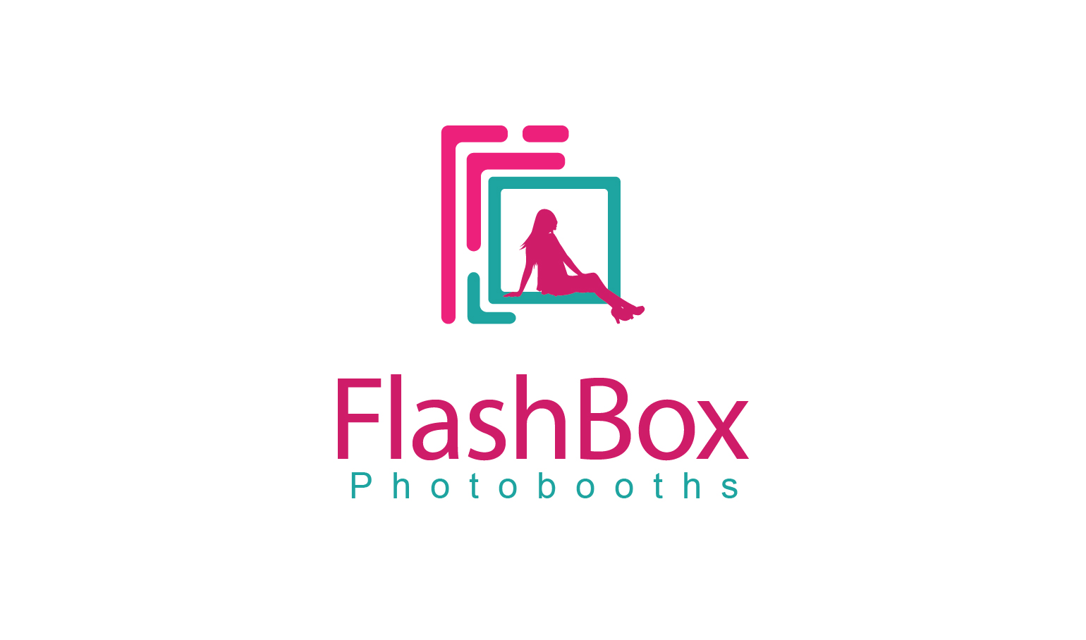 Logo Design by Francis Jun Bayron - Entry No. 50 in the Logo Design Contest New Logo Design for FlashBox Photobooths.